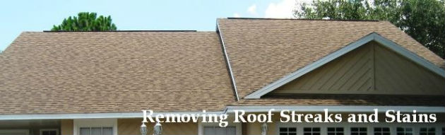 Roof cleaning and restoration